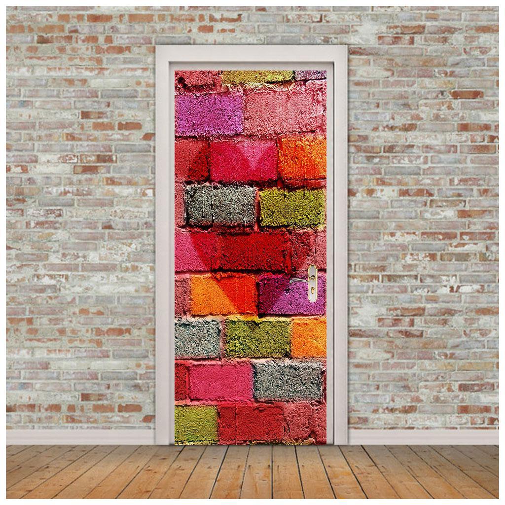 thumbnail 10 - 3D Self Adhesive Door Sticker DIY Decor Poster for Home Room Decor