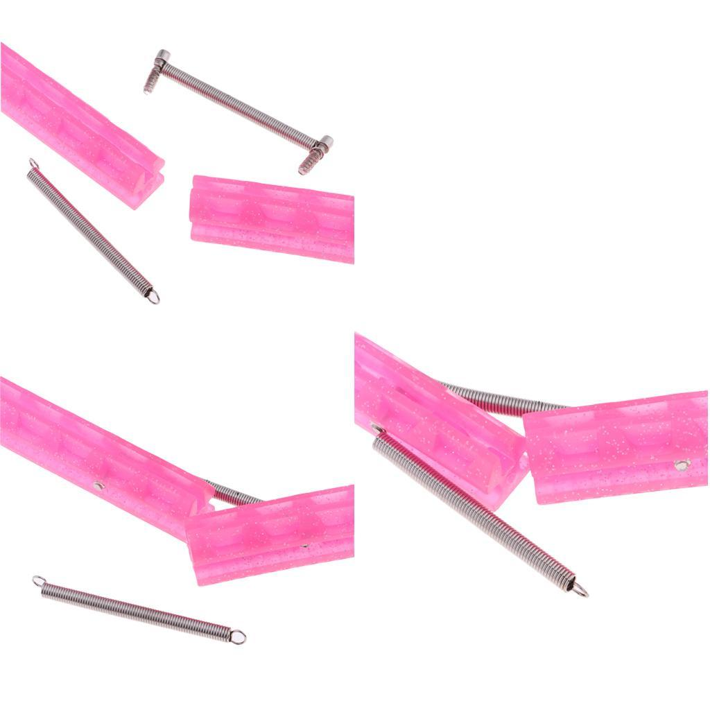 miniatura 12 - 2 pezzi di plastica coperta da hockey su ghiaccio protezione coperta lama