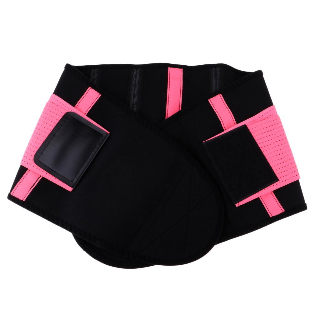 Waist-Trimmer-Weight-Loss-Ab-Belt-Premium-Stomach-Fat-Burner-Wrap-Trainer thumbnail 4