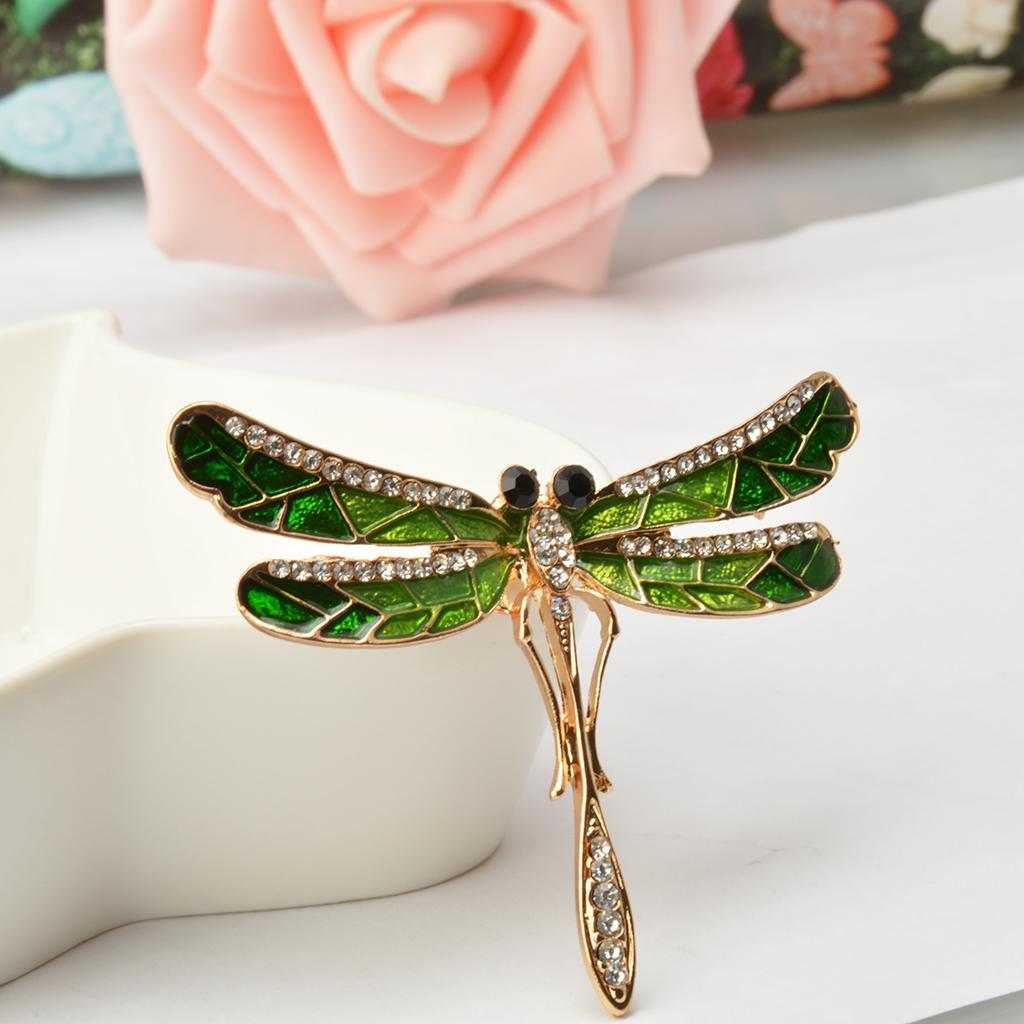 Vintage-Enamle-Rhinestone-Bee-Beetle-Butterfly-Insect-Bug-Pin-Brooch-Breastpin thumbnail 13