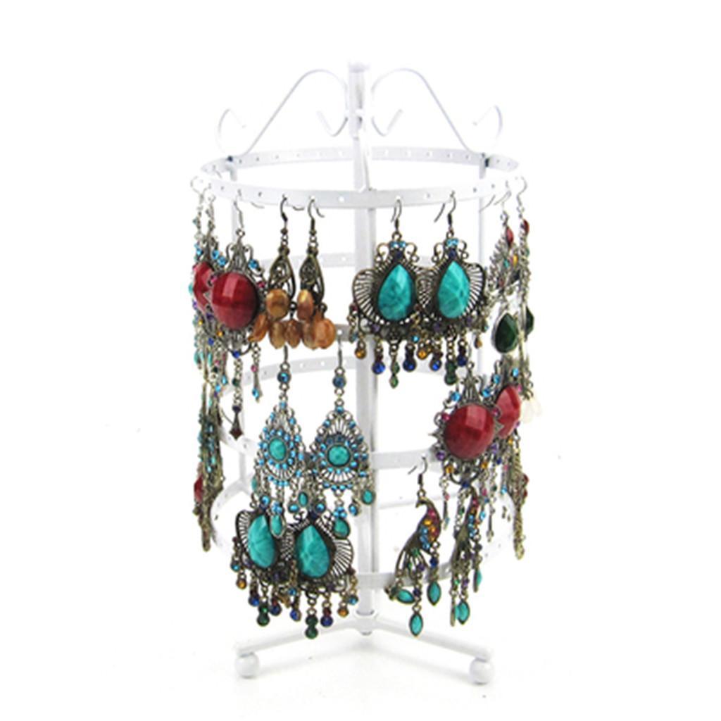 Presentoirs-Boucle-d-039-Oreille-Collier-Trois-Couches-Cadre-Affichage-de-Bijoux miniature 12