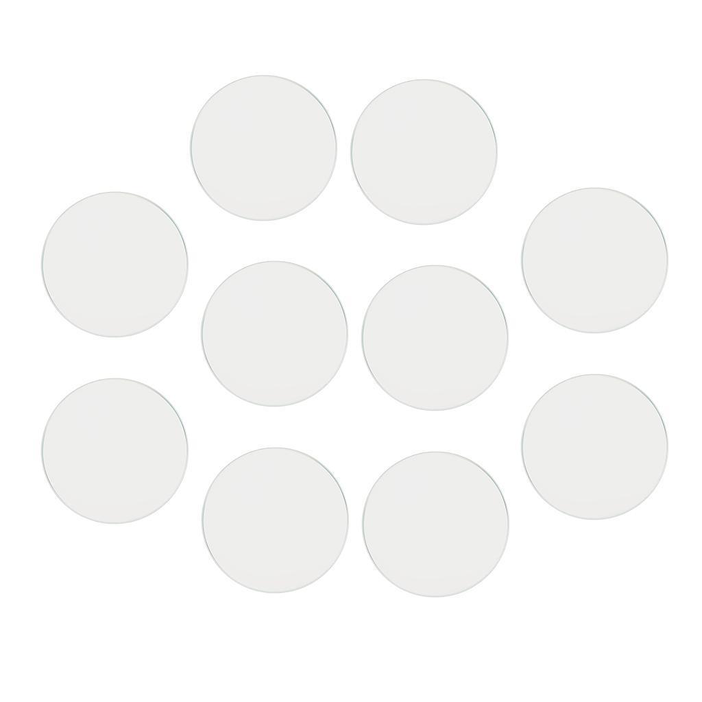 10-Pezzi-Glass-per-Orologio-DIY-Strumento-Vetro-Minerale-in-Cristallo miniatura 13
