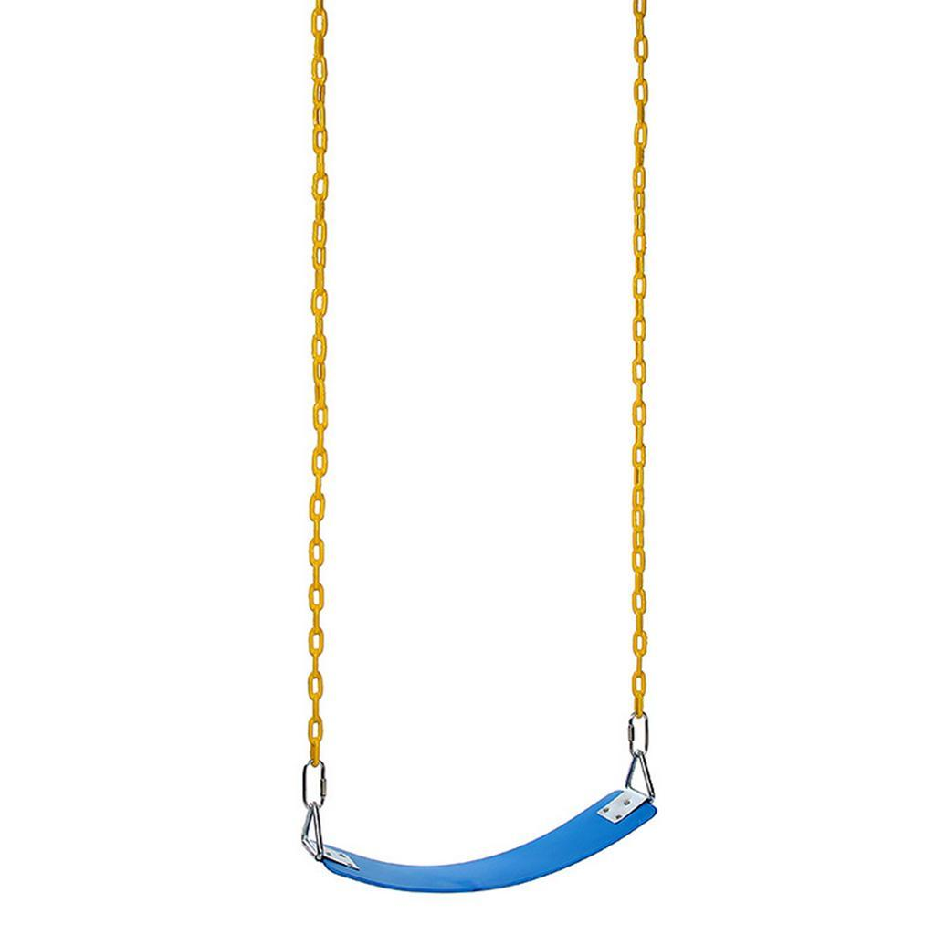 Garden-Swing-Set-Seat-Rope-Hanging-Strap-Connector-Metal-Chain-Kid-Adult-Outdoor miniatuur 54