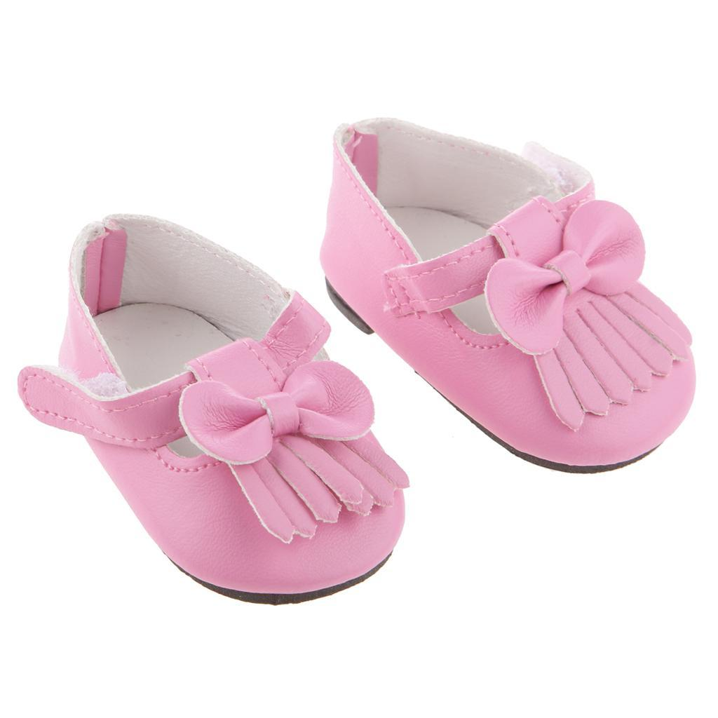 New-Cute-Pair-of-Doll-Shoes-for-18-039-039-American-doll-AG-Dolls-Clothes-Accessories thumbnail 55