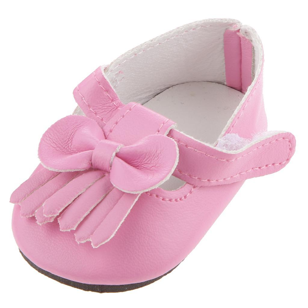 New-Cute-Pair-of-Doll-Shoes-for-18-039-039-American-doll-AG-Dolls-Clothes-Accessories thumbnail 54