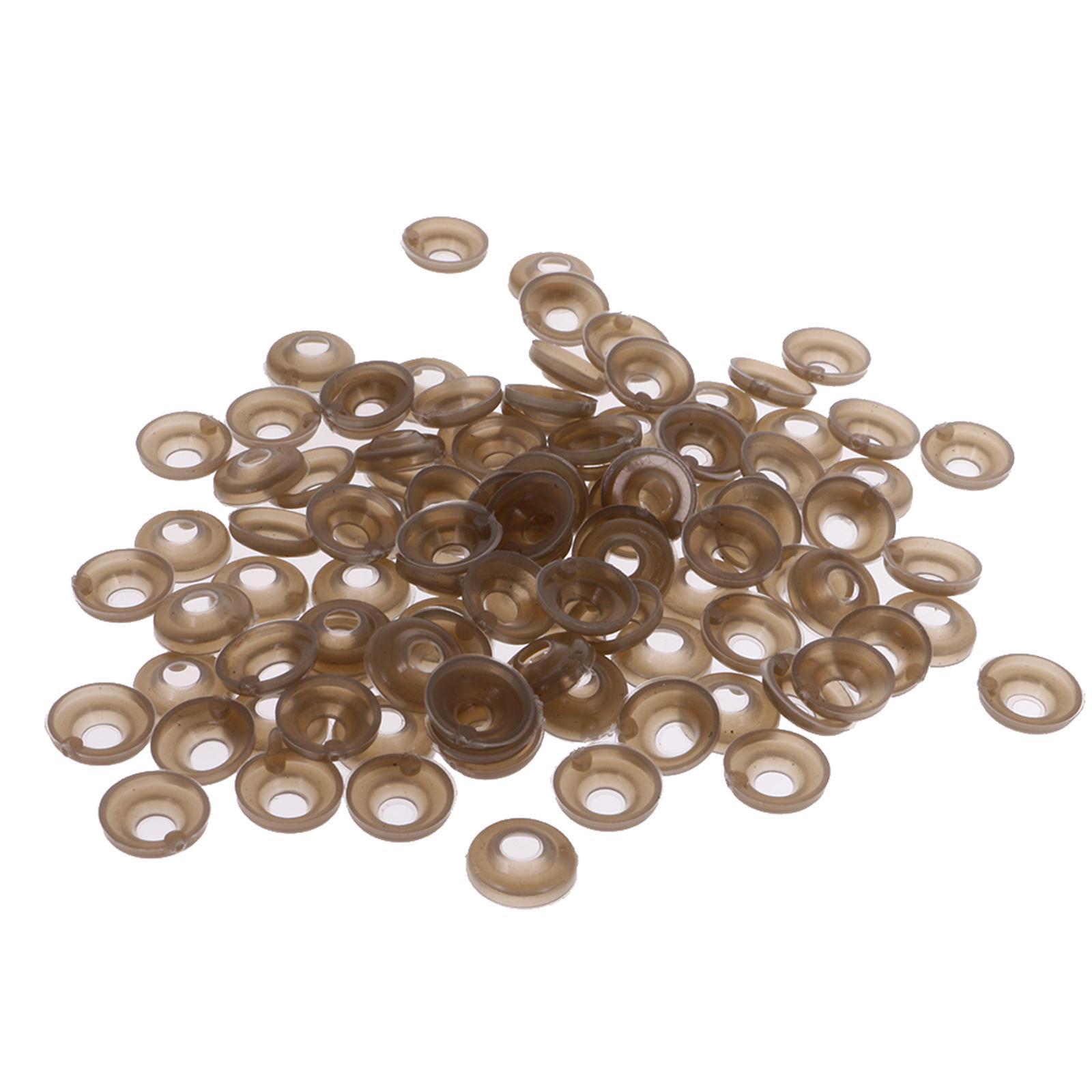 Yeux-de-Securite-Plastique-Plastique-Pour-DIY-Fabrication-Poupee-8-20mm-100Pcs miniature 30