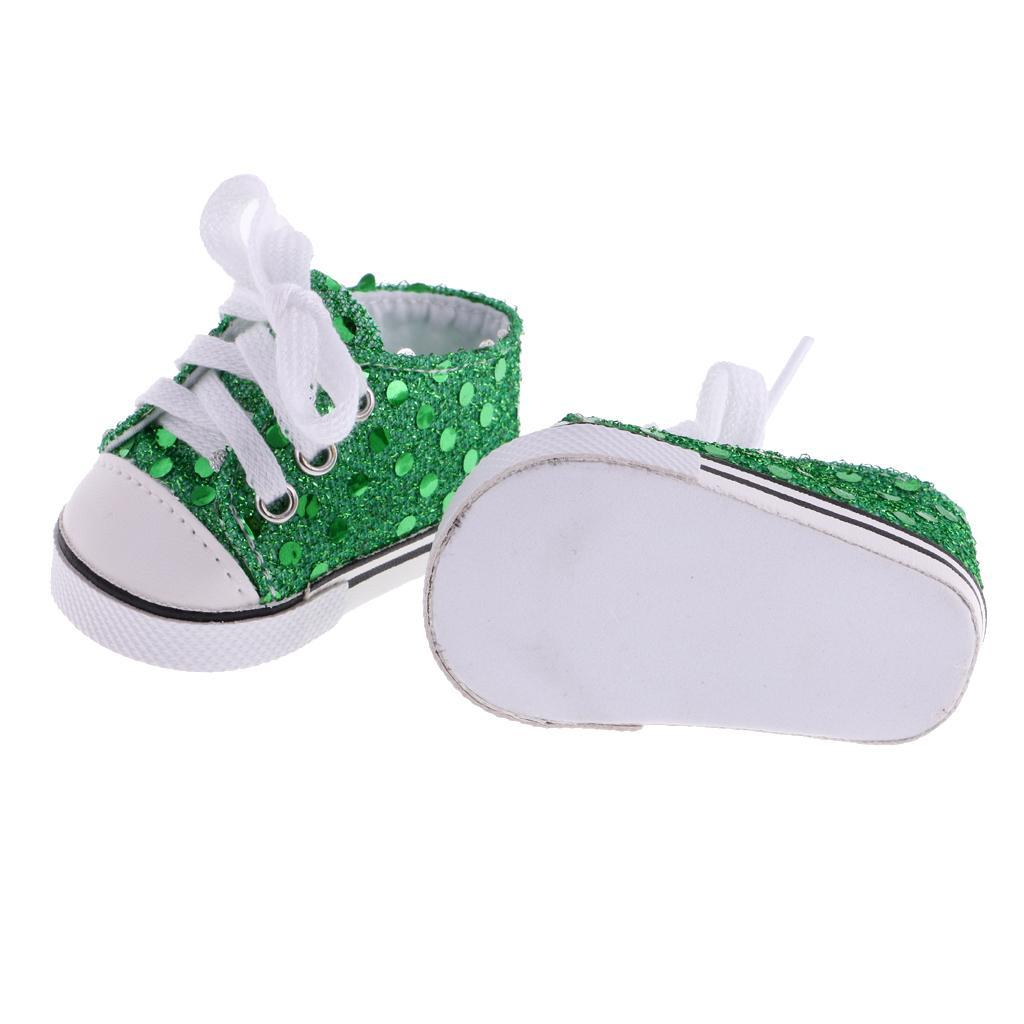 New-Cute-Pair-of-Doll-Shoes-for-18-039-039-American-doll-AG-Dolls-Clothes-Accessories thumbnail 13
