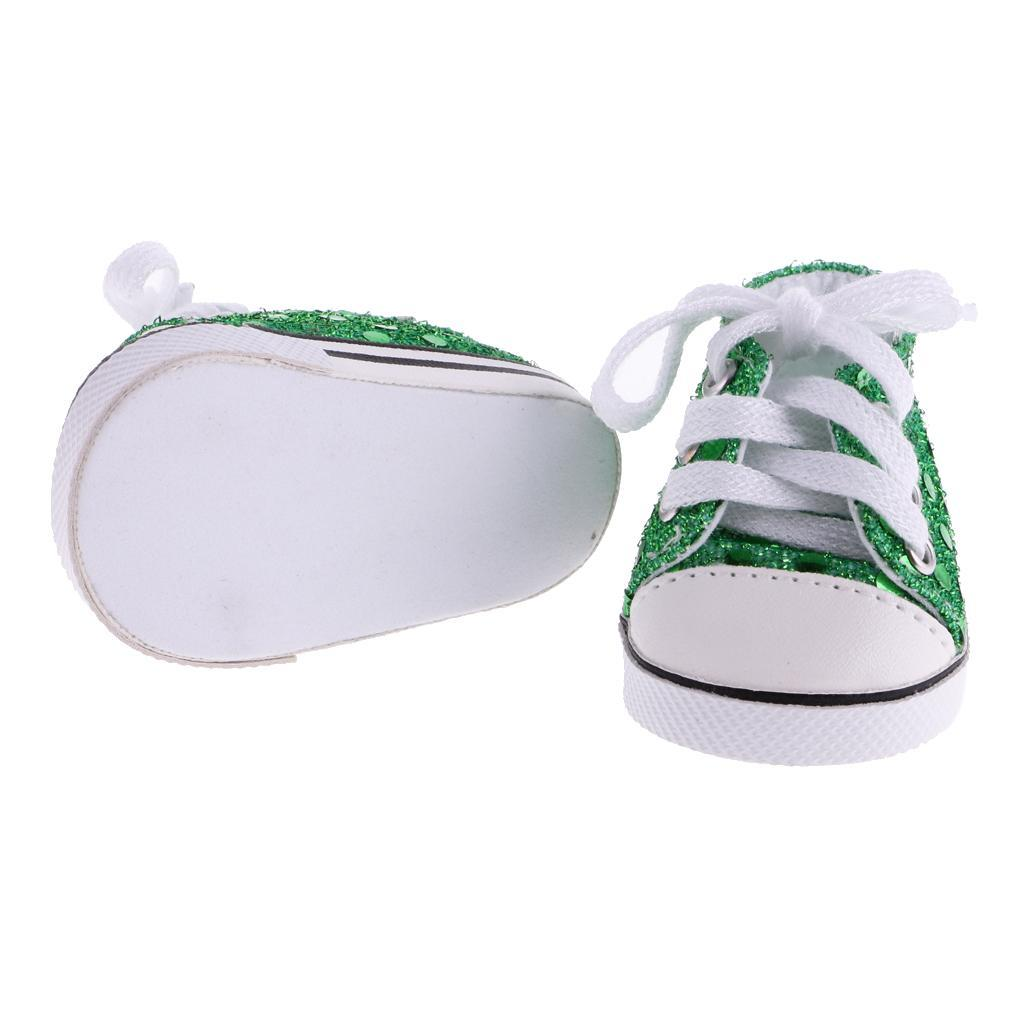 New-Cute-Pair-of-Doll-Shoes-for-18-039-039-American-doll-AG-Dolls-Clothes-Accessories thumbnail 12