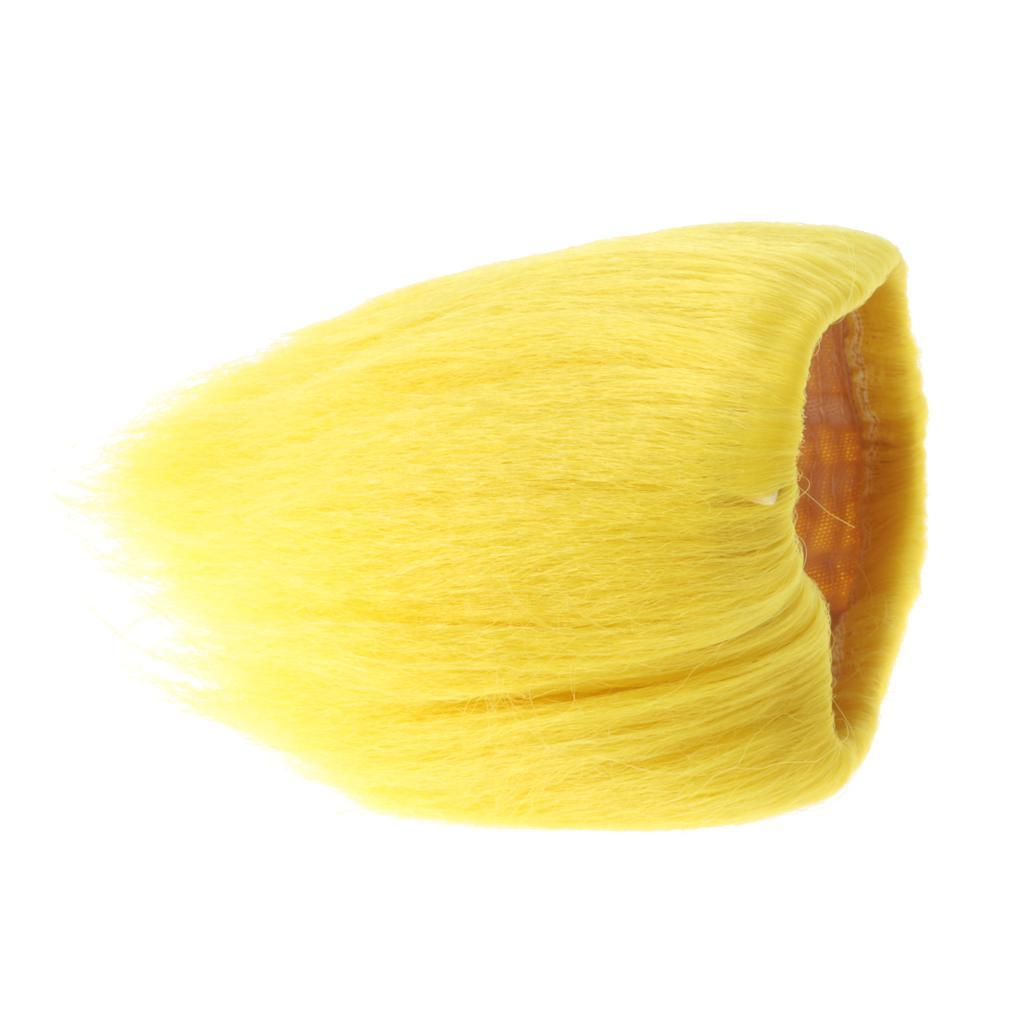 Straight-Gradient-Curly-Hair-Wig-for-18-039-039-Doll-Dress-up-Accessory thumbnail 32
