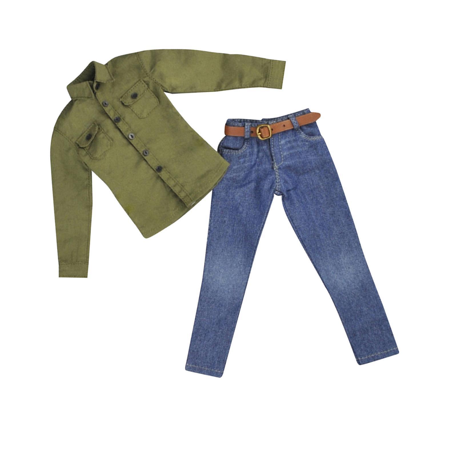 1-6-Scale-Men-039-s-Outfits-Clothes-Set-For-12-039-039-Hot-Toys-Action-Figure-Accessories miniature 35