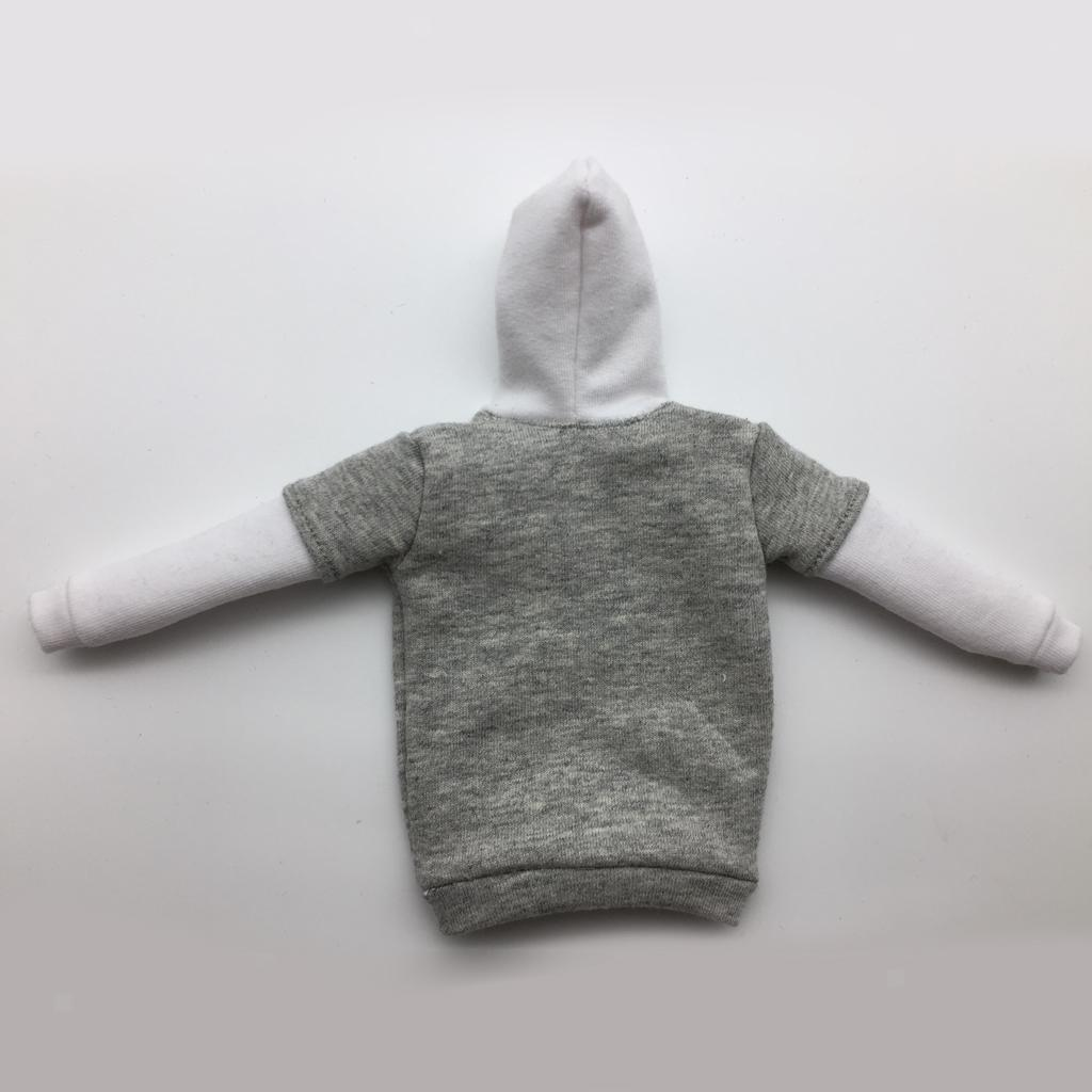 1-6-Scale-Mens-Long-Hoodie-Hooded-Sweatshirt-for-12inch-Action-Figure-Hot-Toys miniature 18