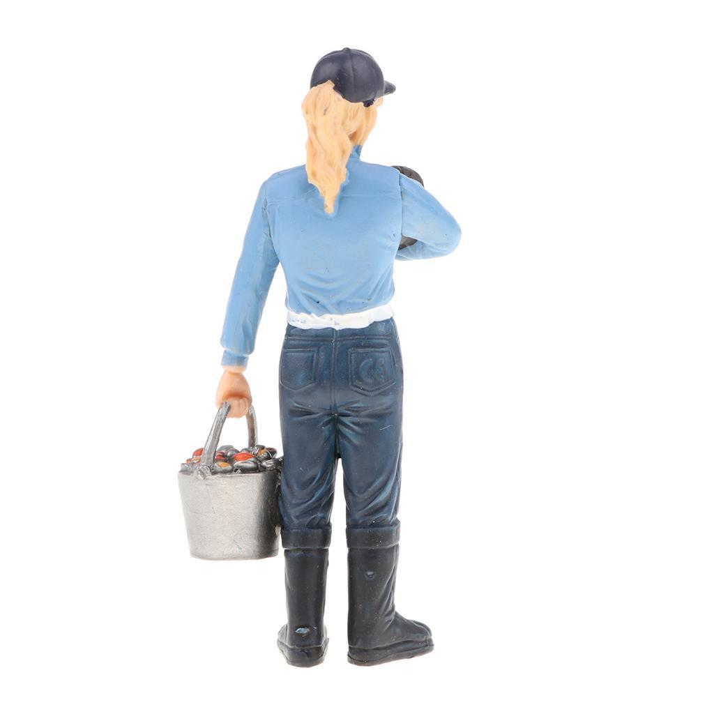 Plastic-Colorful-People-Model-Figure-Ranch-Worker-Figurines-Kid-Gift-Decor thumbnail 12