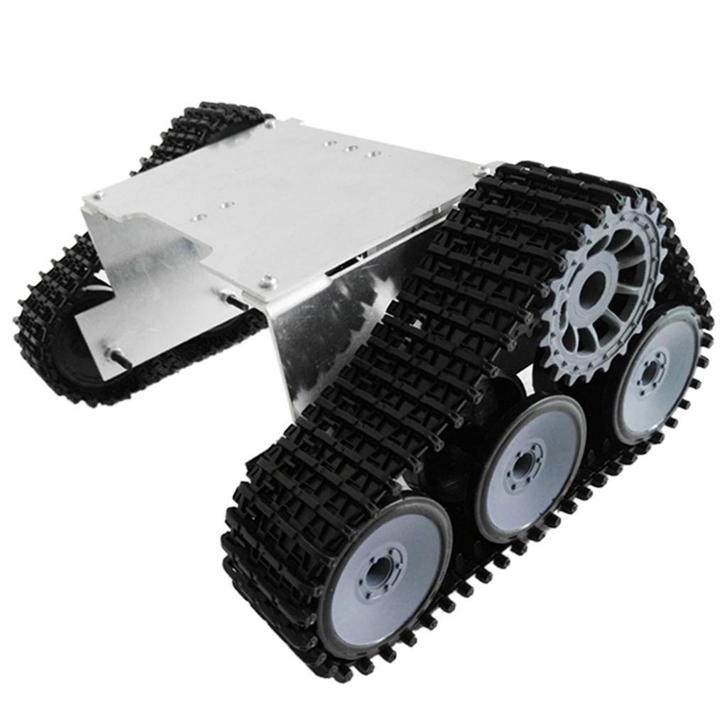 edizione limitata a caldo Rintracciato veicolo veicolo veicolo ROBOT Crawler serbatoio telaio per fai da te la scienza Arduino  qualità ufficiale