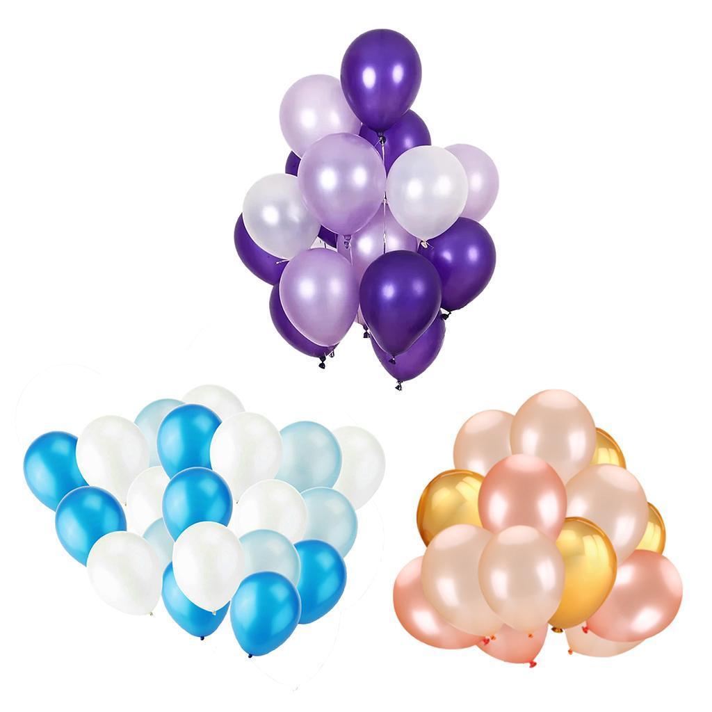 30-Pieces-Ballon-de-Latex-Decoration-pour-Fete-d-039-Anniversaire-Mariage miniature 6
