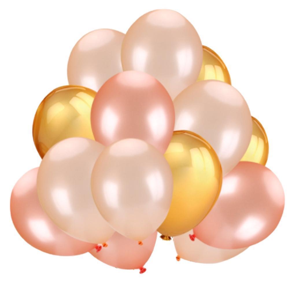30-Pieces-Ballon-de-Latex-Decoration-pour-Fete-d-039-Anniversaire-Mariage miniature 3