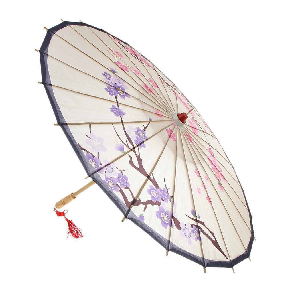 Parapluie-Chinois-Parasol-De-Mariage-Maison miniature 18