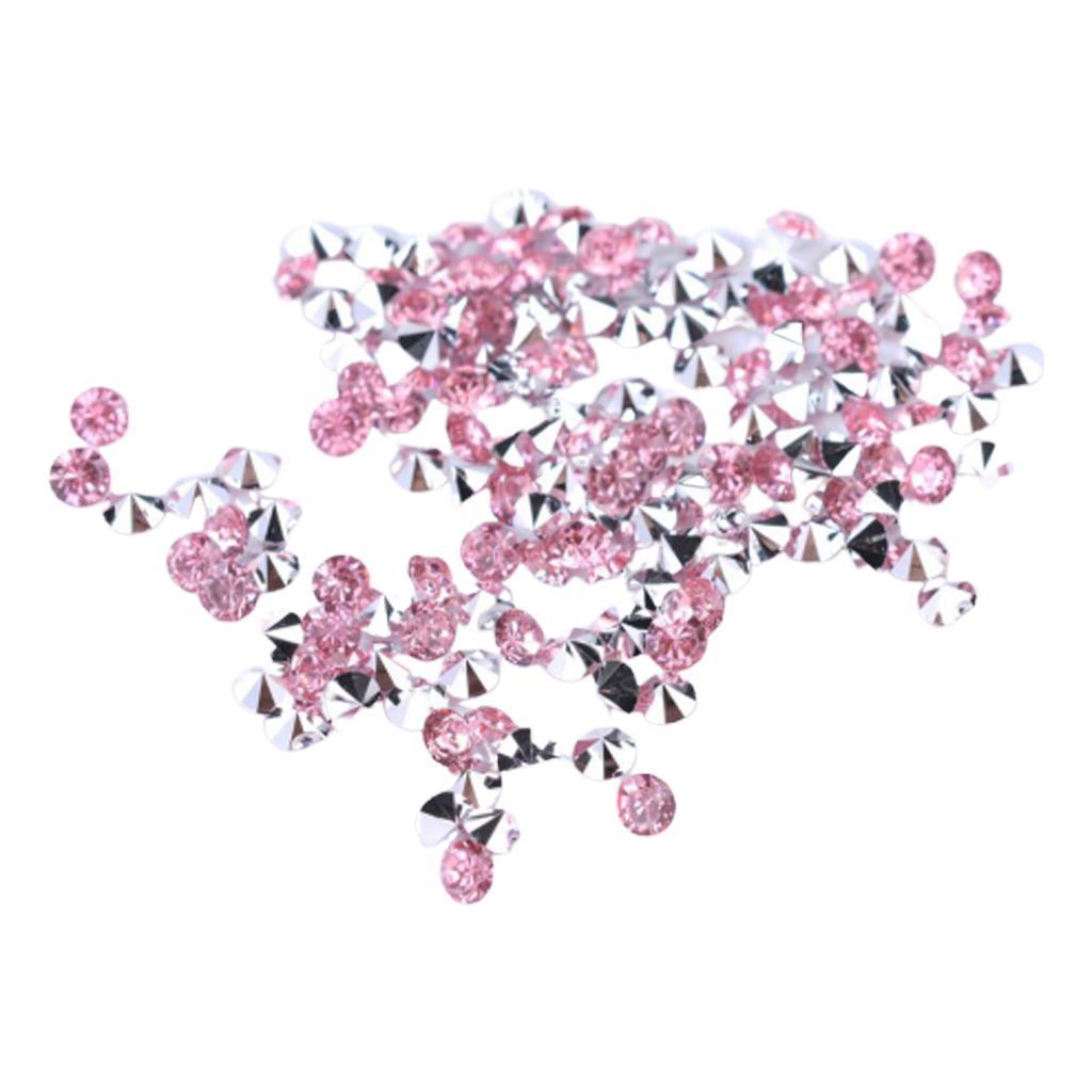 5000-Crystal-Diamonds-Confetti-Wedding-Bridal-Party-Decorations-Vase-Fillers thumbnail 9