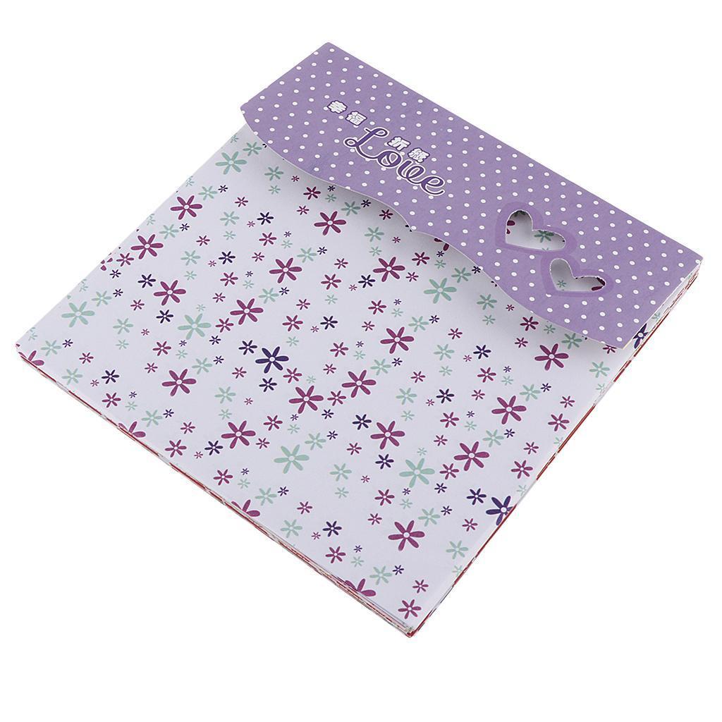 15-Pezzi-Carte-da-Origami-Quadrate-Pennelli-A-Punta-Tonda-Nair-Art-DIY miniatura 6