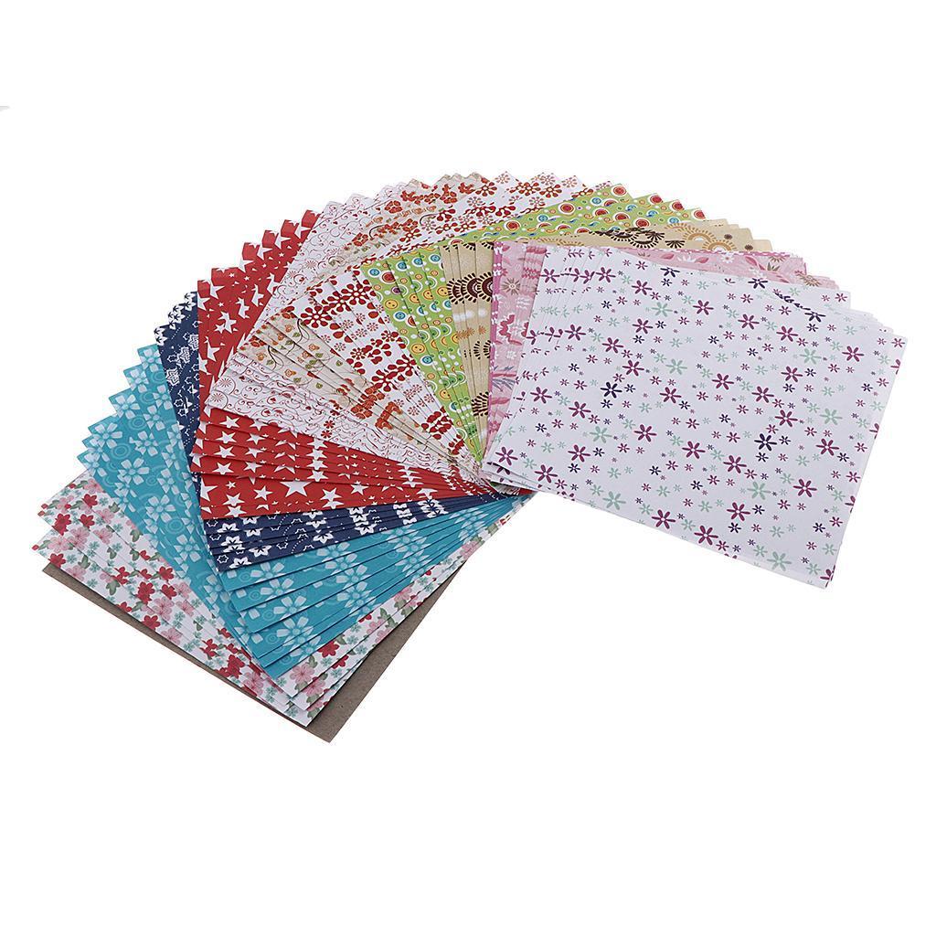 15-Pezzi-Carte-da-Origami-Quadrate-Pennelli-A-Punta-Tonda-Nair-Art-DIY miniatura 3
