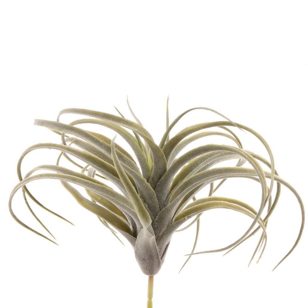Bouquet-Herbe-Feuilles-Florales-Artificielle-Plantes-Decor-Interieur miniature 11