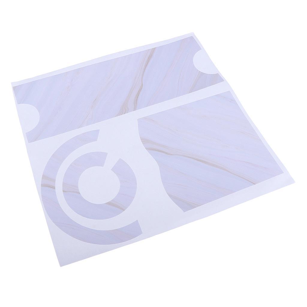 Asciugacapelli-Adesivi-in-PVC-Resistente-All-039-acqua-Materiale-in-Carta miniatura 24