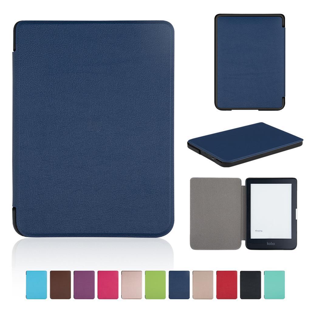 ULTRA-SOTTILE-PELLE-SMART-SLIM-COVER-STAND-CASE-PER-Kobo-Clara-6-034-eReader miniatura 9