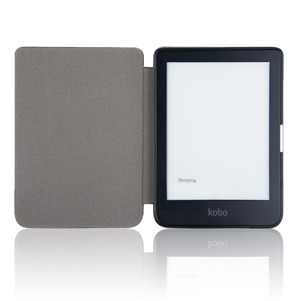 ULTRA-SOTTILE-PELLE-SMART-SLIM-COVER-STAND-CASE-PER-Kobo-Clara-6-034-eReader miniatura 10