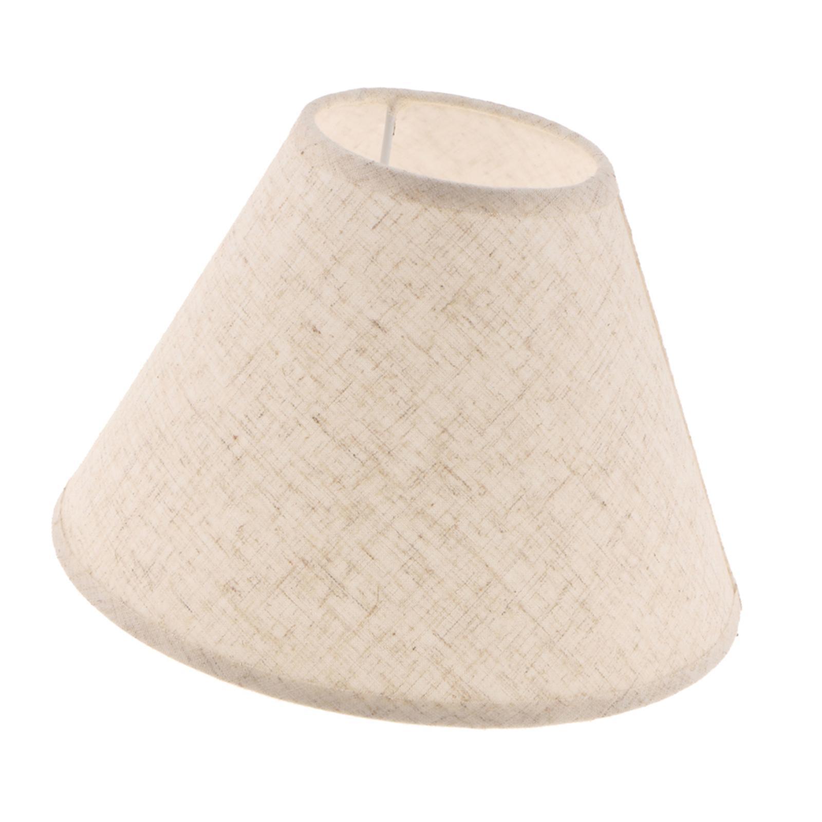 Paralume-in-Tessuto-per-lampada-da-tavolo-o-soffitto-Classico-in-Diversi-Colori miniatura 8
