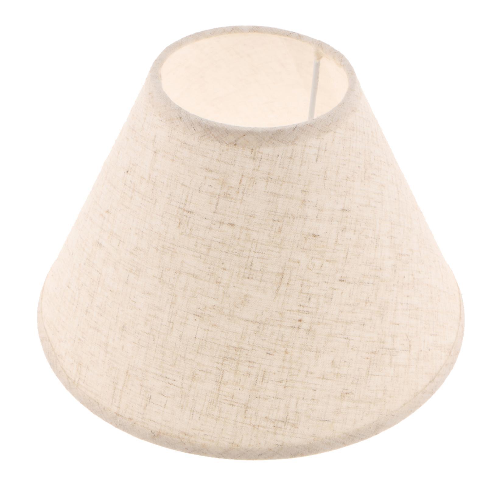 Paralume-in-Tessuto-per-lampada-da-tavolo-o-soffitto-Classico-in-Diversi-Colori miniatura 9