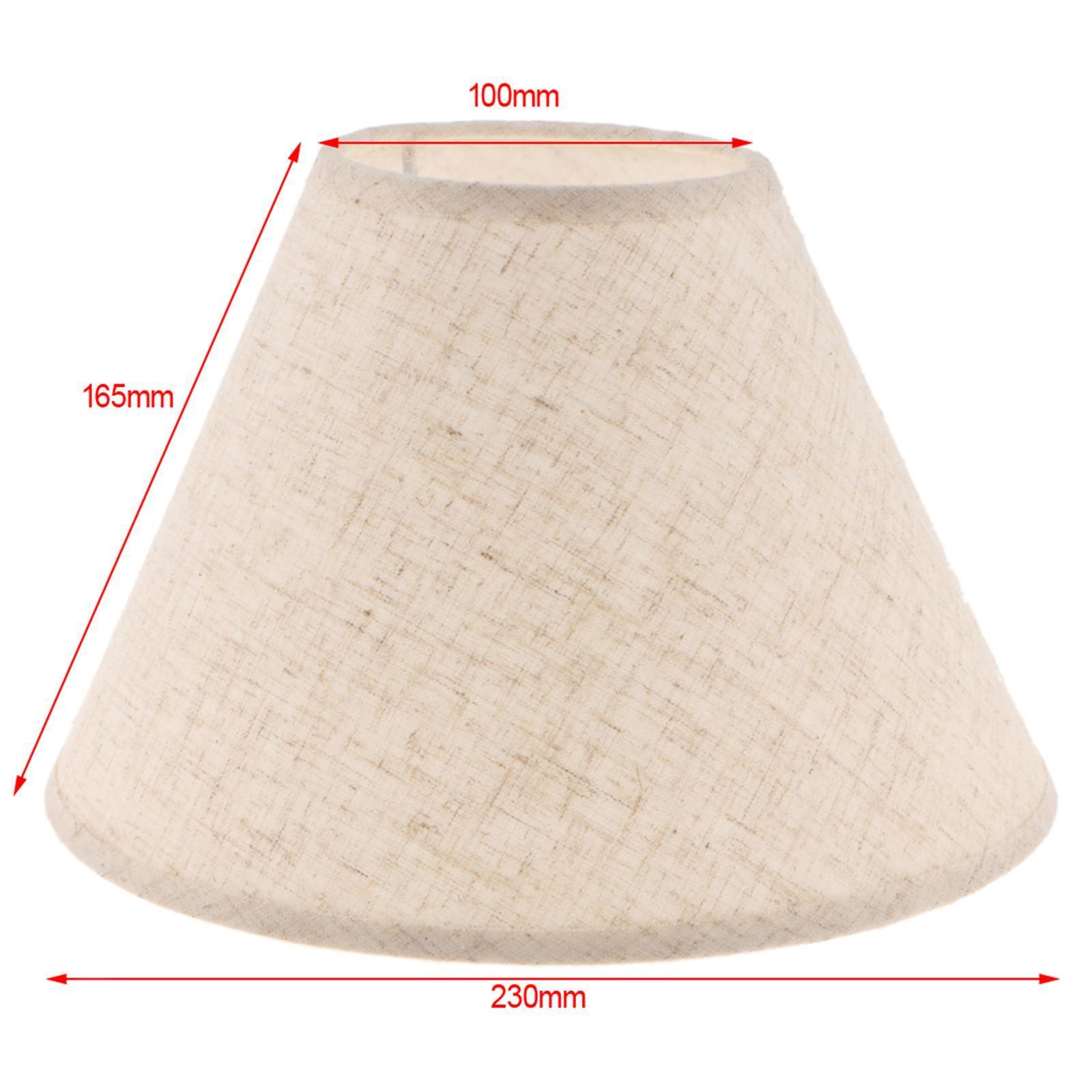 Paralume-in-Tessuto-per-lampada-da-tavolo-o-soffitto-Classico-in-Diversi-Colori miniatura 10