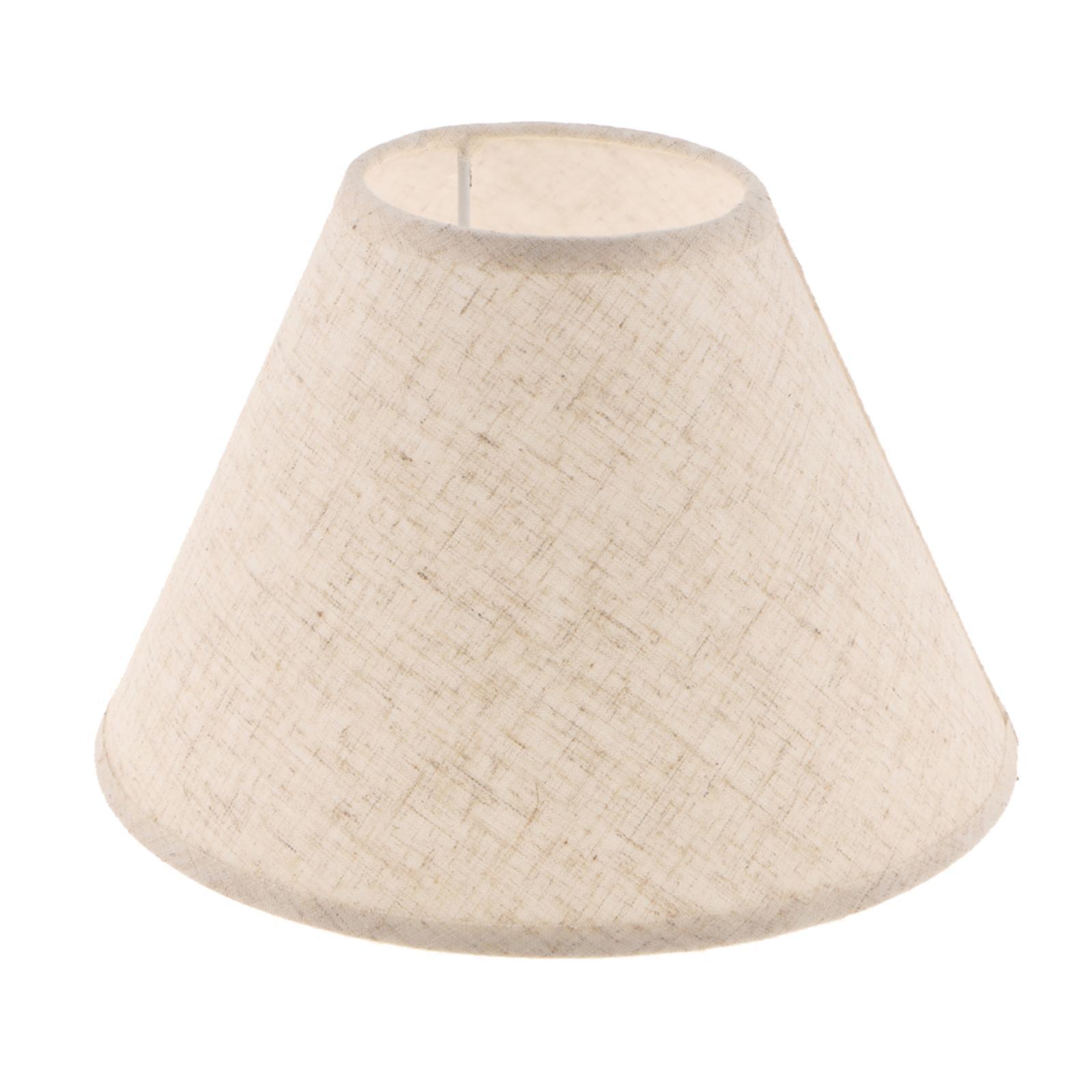 Paralume-in-Tessuto-per-lampada-da-tavolo-o-soffitto-Classico-in-Diversi-Colori miniatura 7