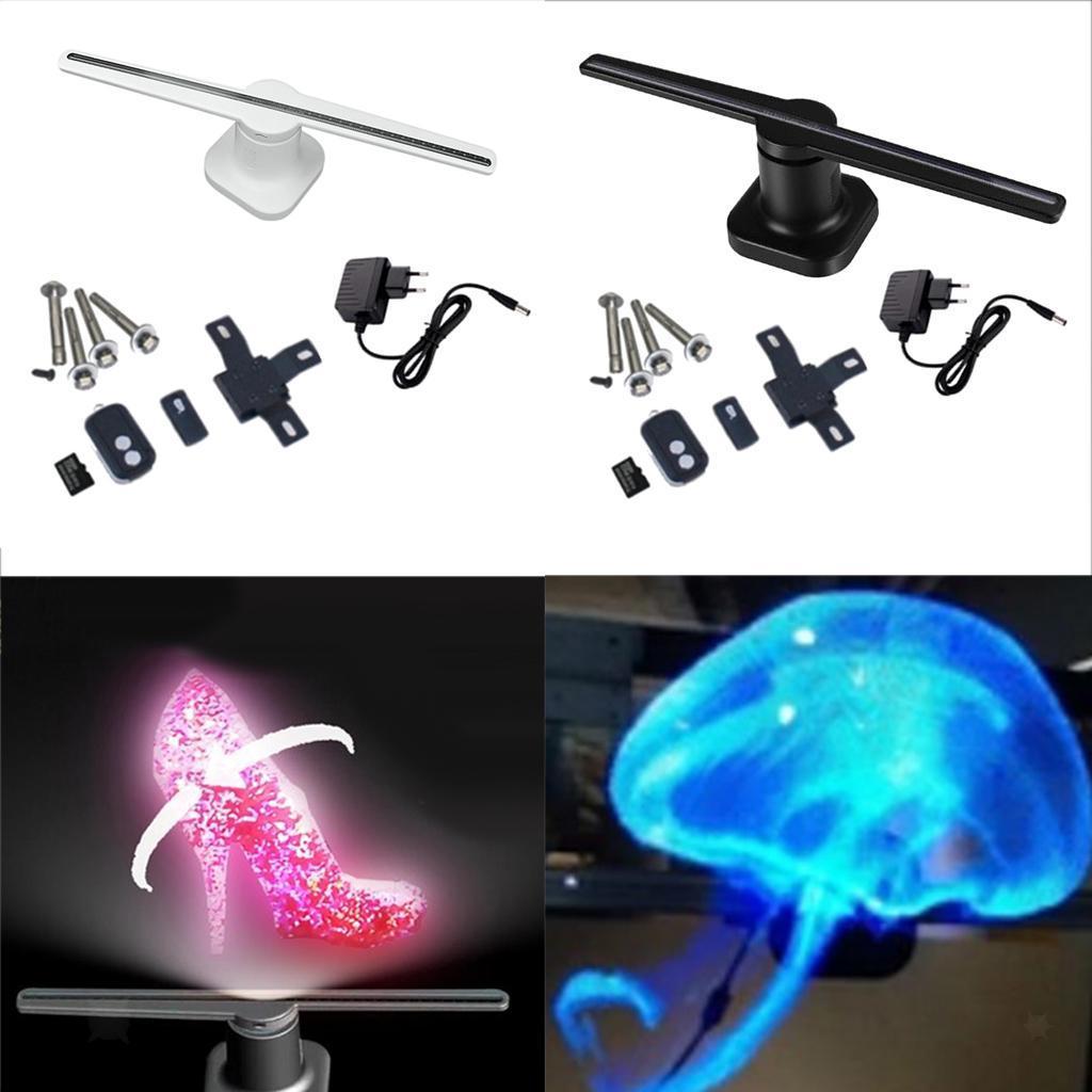 3D-Projecteur-Holographique-Ventilateur-Affichage-Presentoir-pour-Gare-Magasin miniature 3
