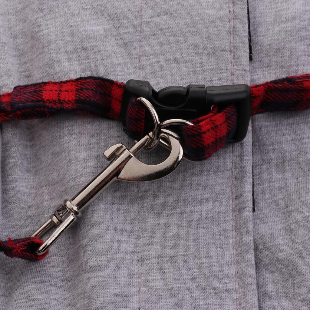 Harnais-de-Securite-Laisse-Ajustable-Gilet-de-Britannique-Mode-Laisse miniature 4