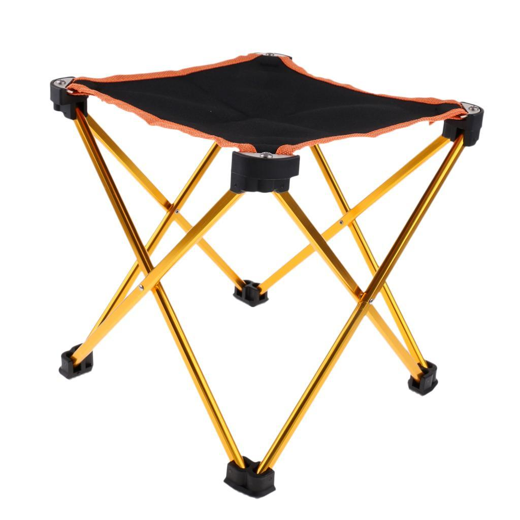 Compact-Ultralight-Portable-Folding-Camping-Backpacking-Stool-Chair-with-Bag thumbnail 6