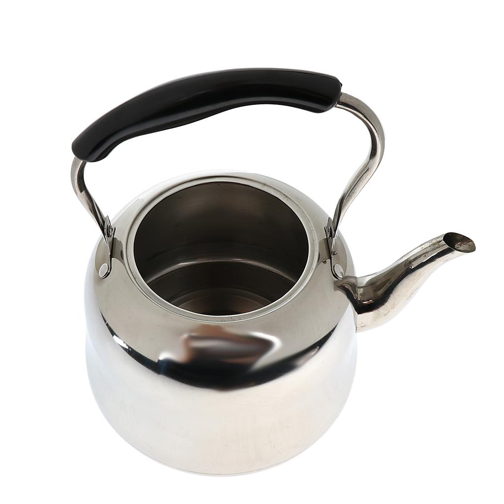 Wasserkocher Pfeife Kessel aus Edelstahl Wasserkessel für Tee Kaffee Wasser
