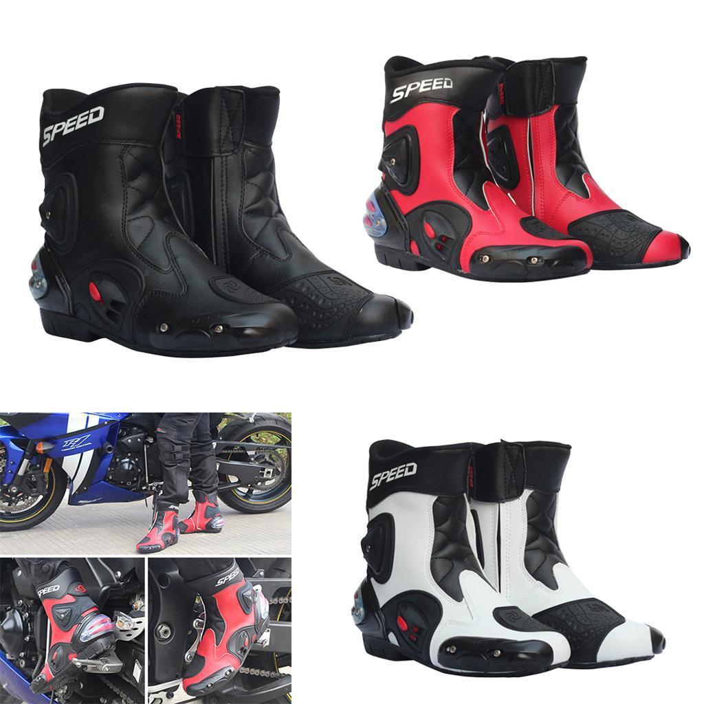 Bottes-de-Moto-Mode-Touring-Chaussures-d-039-Equitation miniature 3