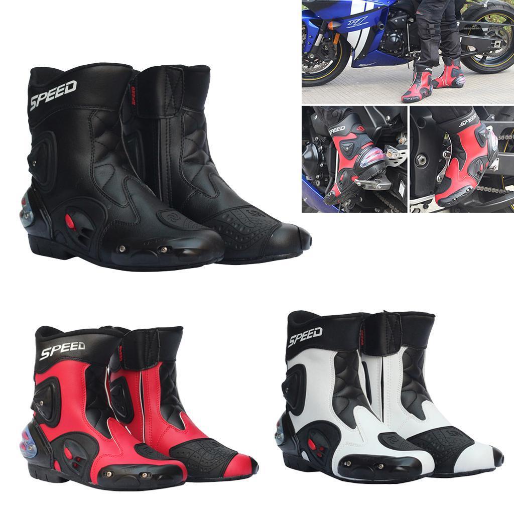 Bottes-de-Moto-Mode-Touring-Chaussures-d-039-Equitation miniature 4