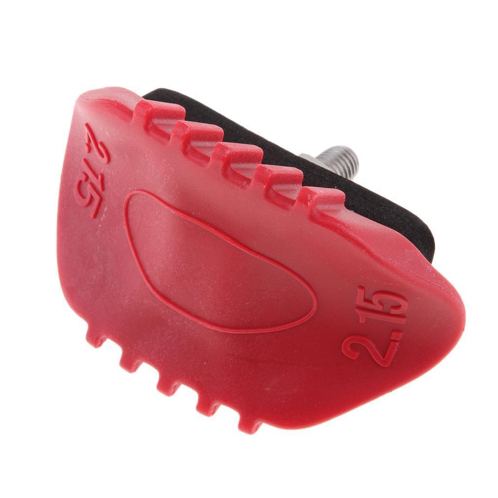 Red-Rubber-Wheel-Rim-Security-Lock-Anti-Slip-Studs-1-60-1-85-2-15-New thumbnail 6