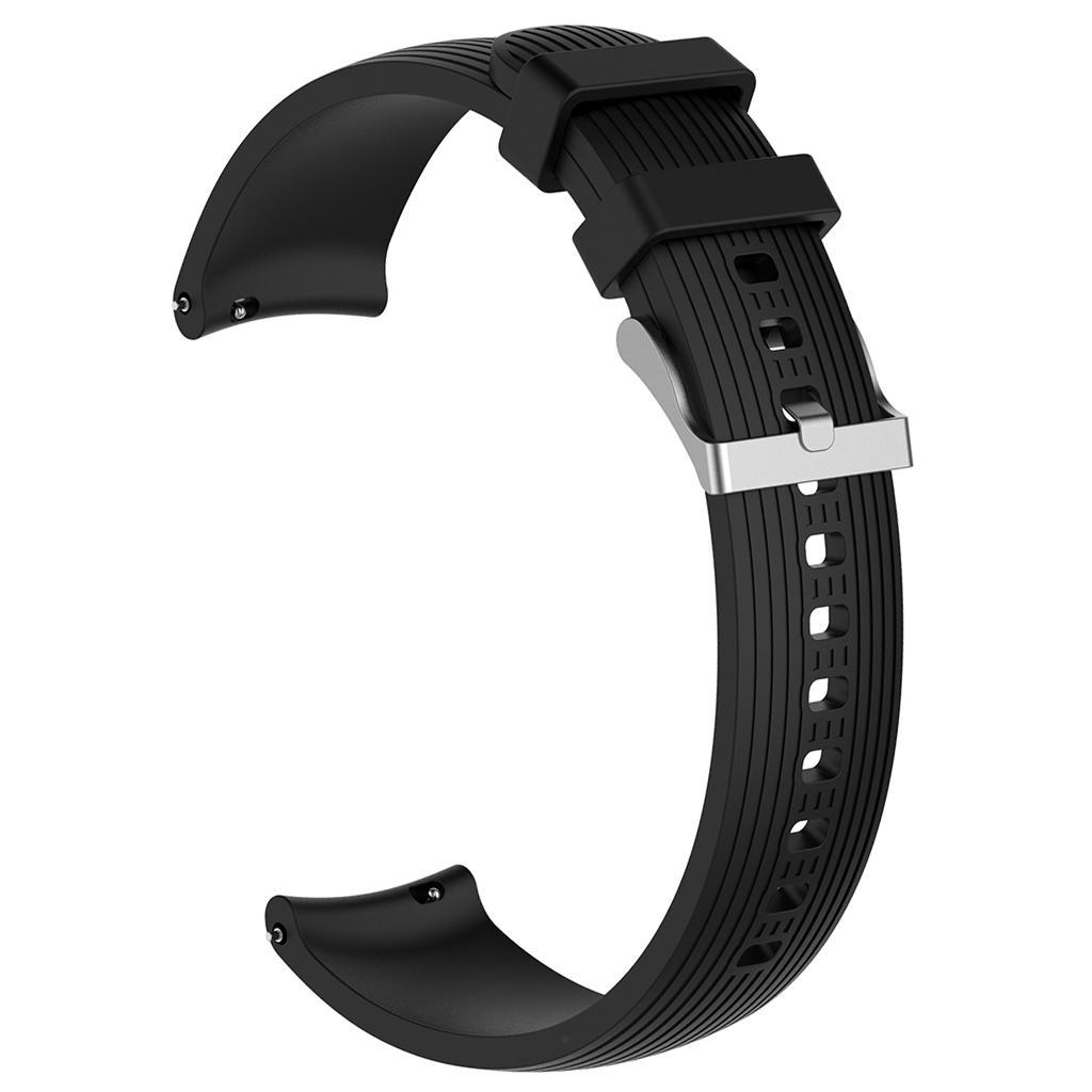 Smartwatch-Strap-Fitness-Tracker-Striped-Wristband-for-Galaxy-Watch-Active thumbnail 4