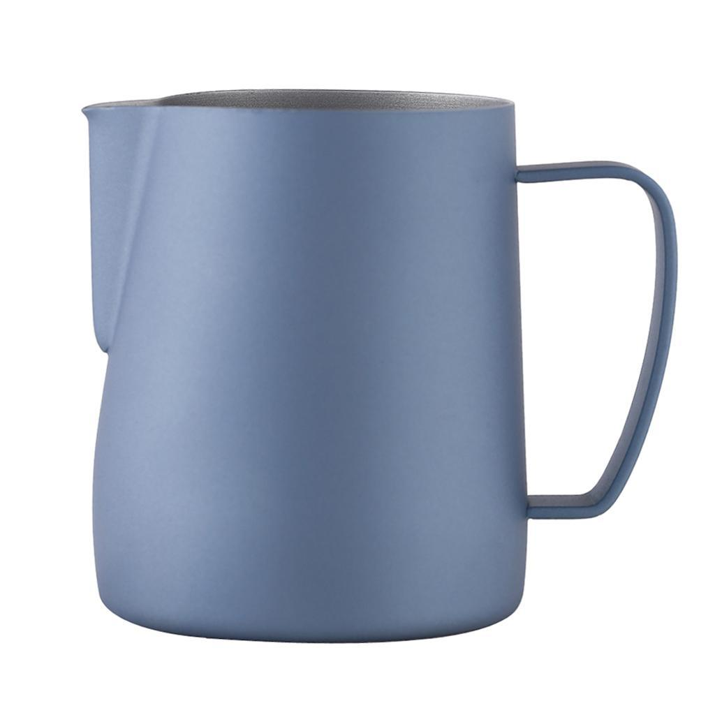 Milk-Pitcher-Stainless-Steel-Cup-Frothing-Pitcher-Jug-Coffee-Latte-600ml thumbnail 19