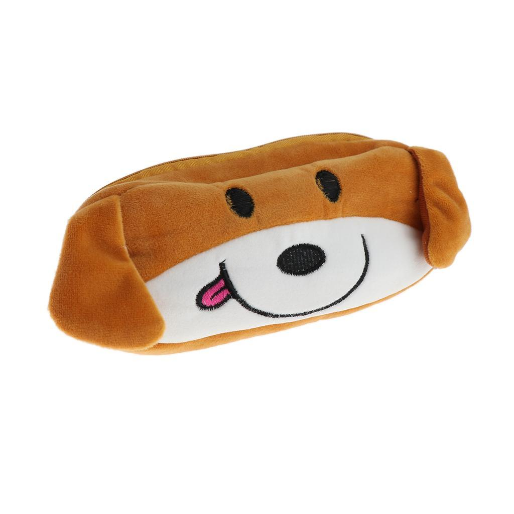 Pencil-Pouch-Plush-Stationery-Bag-Animal-Cosmetic-Bags-School-Supplies thumbnail 7