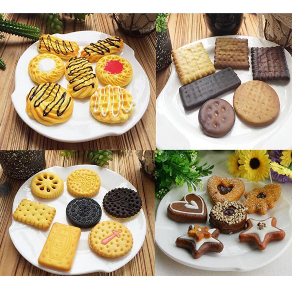 Biscotti-artificiali-di-simulazione-del-biscotto-Dessert-falso-per-le-mostre miniatura 6