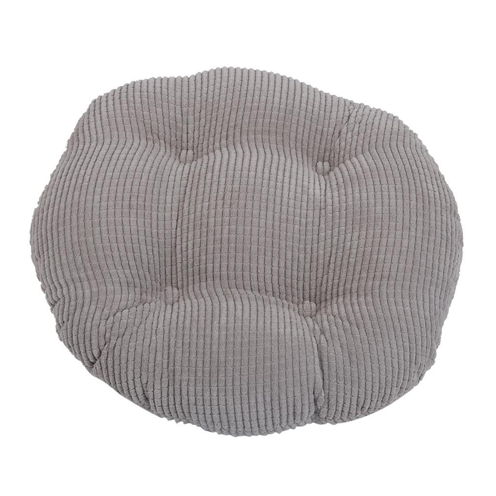 "baibu Super Breathable Round Bar Stool Cover Seat Cushion Black 13/"" 13/"" New"
