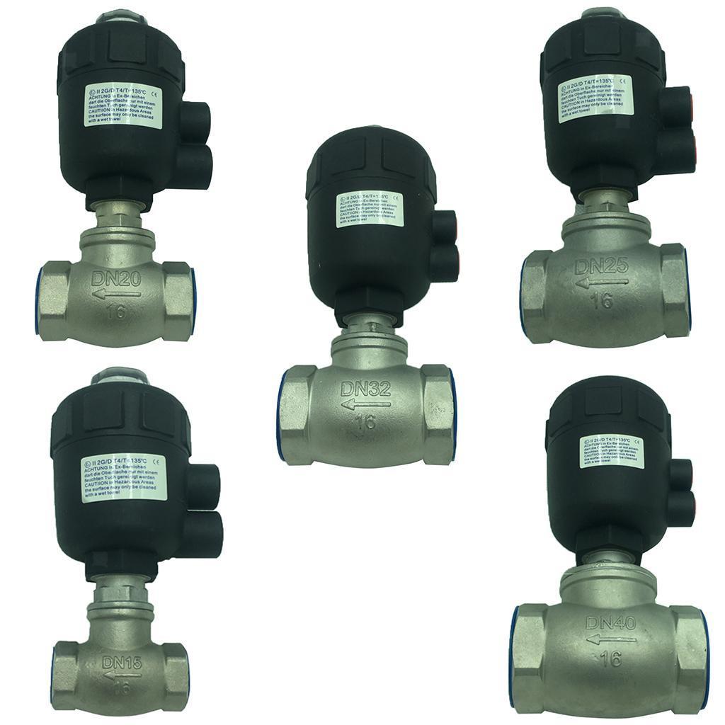 thumbnail 4 - Steel Spigot Faucet Tap Water Oil Barrel Pneumatic Straight-through Valve