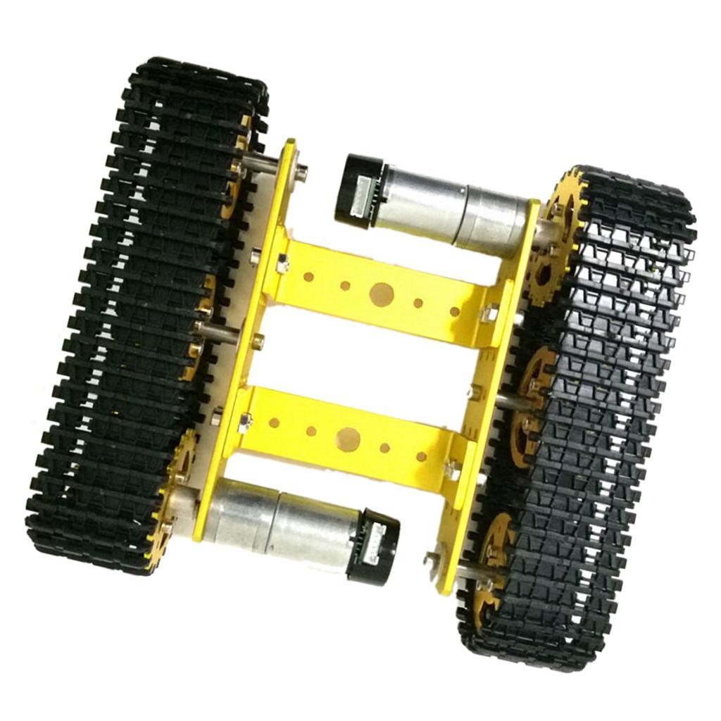 Smart Tank Chassis Platform Robot DIY Arduino Lega per dilettanti Progetti