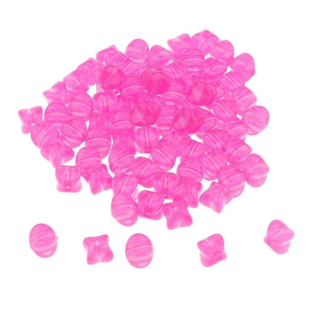 100g-9mm-Acrylic-Loose-Beads-Square-Jelly-Design-DIY-Jewelry-Findings-Making thumbnail 6