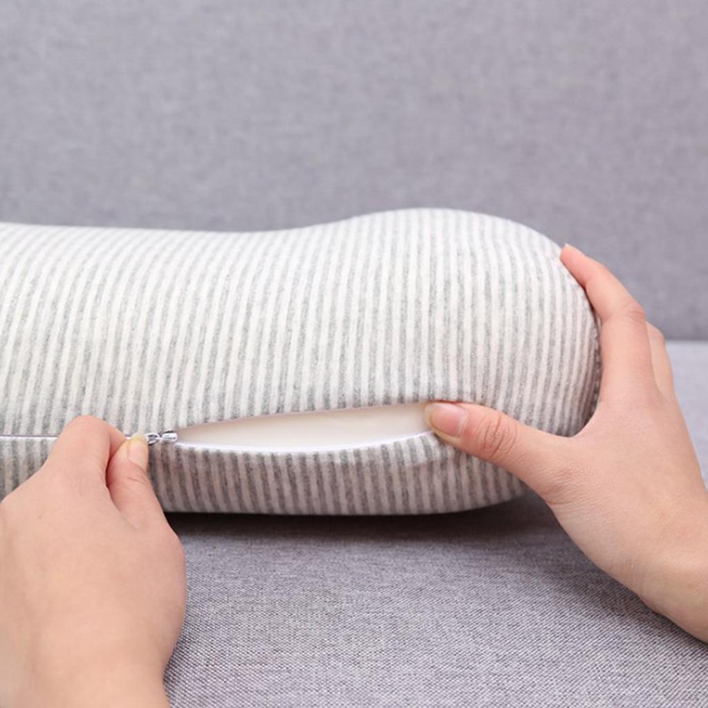 Schiuma-di-memoria-del-cuscino-del-cuscino-del-cuscino-lombare miniatura 5