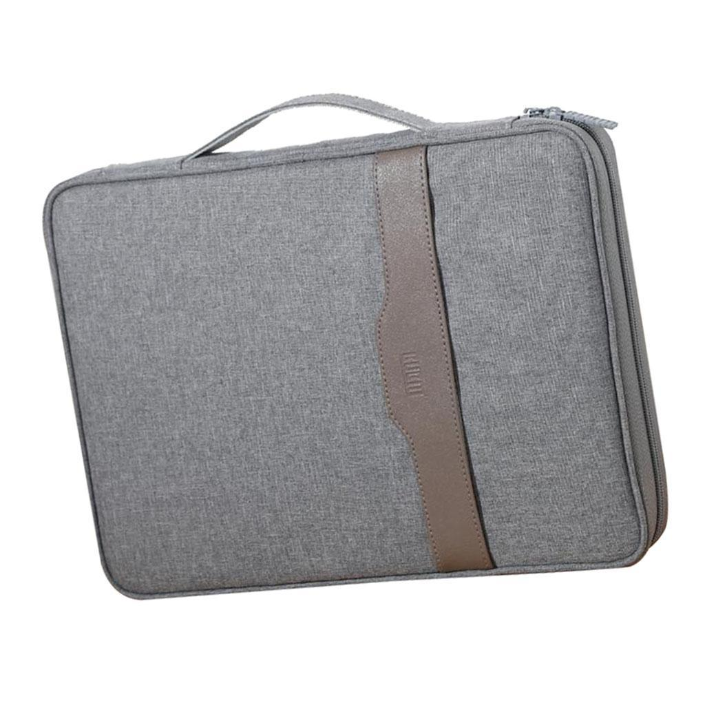 Portable-Files-Package-Documents-PC-Laptop-Organizer-Bag-Fit-for-Work-Travel thumbnail 3