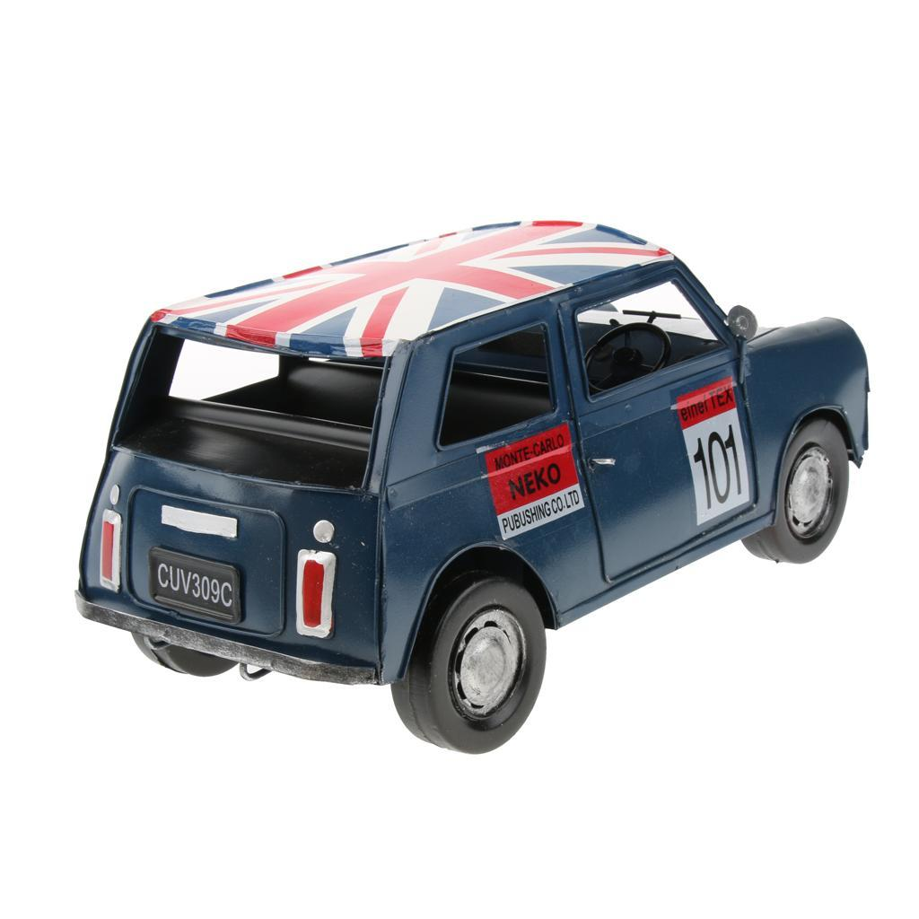 Retro-Style-Car-Model-Home-Bar-Cafe-Decoration-Collezioni-Regalo-speciale miniatura 9