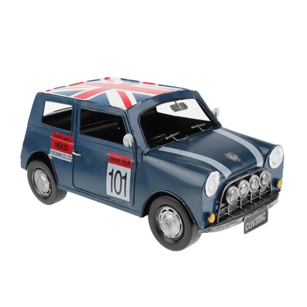 Retro-Style-Car-Model-Home-Bar-Cafe-Decoration-Collezioni-Regalo-speciale miniatura 10